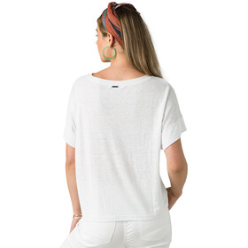 Prana Vosky T-shirt Femme, white